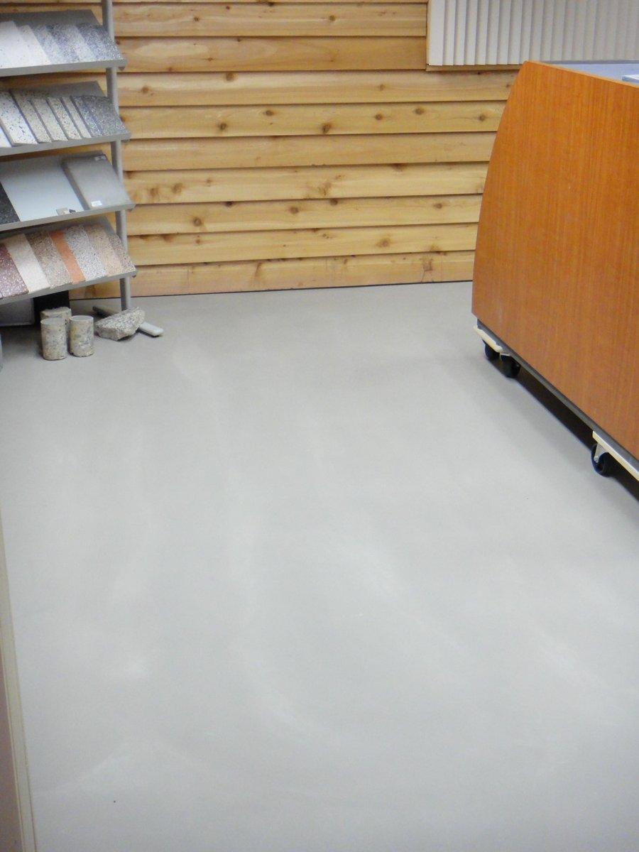 good terazzo en traas with linoleum betonlook. Black Bedroom Furniture Sets. Home Design Ideas